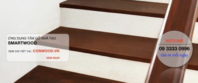 làm cầu thang bằng gỗ nhân tạo Conwood, Smartwood 05