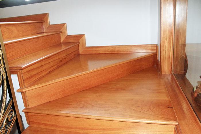 làm cầu thang bằng gỗ nhân tạo Conwood, Smartwood 03
