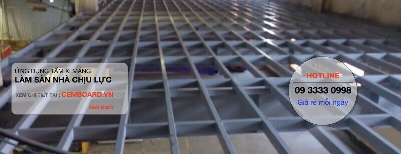 1 m2 sàn Cemboard nặng bao nhiêu kg ?