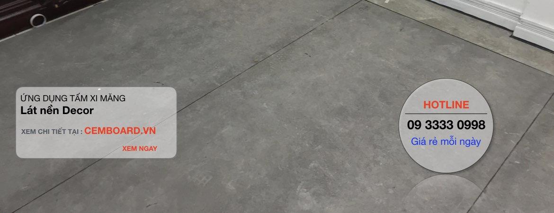 tấmbê tông nhẹ CementBoard SCG
