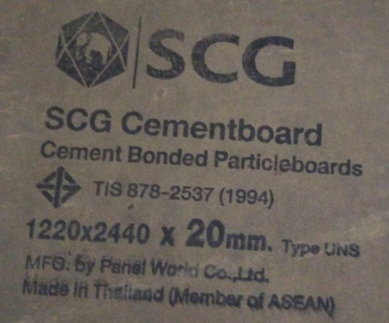 Tấm bê tông Cemboard SCG Thái Lan